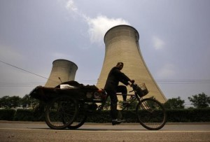 China-coal-fired-power-cooling-towers
