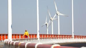 China-Tianjin-eco-city-wind-turbines