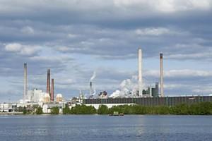 Metsäteollisuus, StoraEnso, Varkauden tehtaat, paperitehdas.