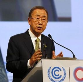 Ban-Ki-moon-speaks-UN-climate-talks-Lima