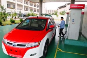 china-EV-charging-point