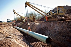 Construction-Keystone-Pipeline-US