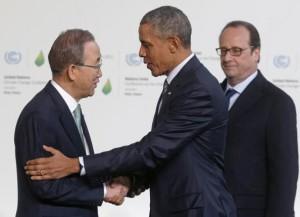 UN-SecGen-Ban-Ki-moon-US-Obama-Paris-climate