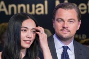 Chinese-actress-Yao-Chen-Leonardo-DiCaprio-WEF-Davos