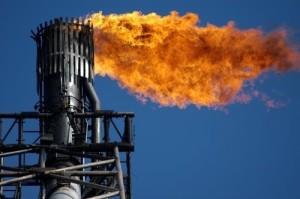 Methane-flare-US-fracking