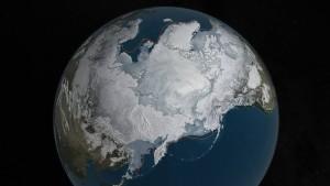 NASA-Artic-Ice-Level-Visualisation